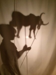 Bambu Stage Shadow Puppetry